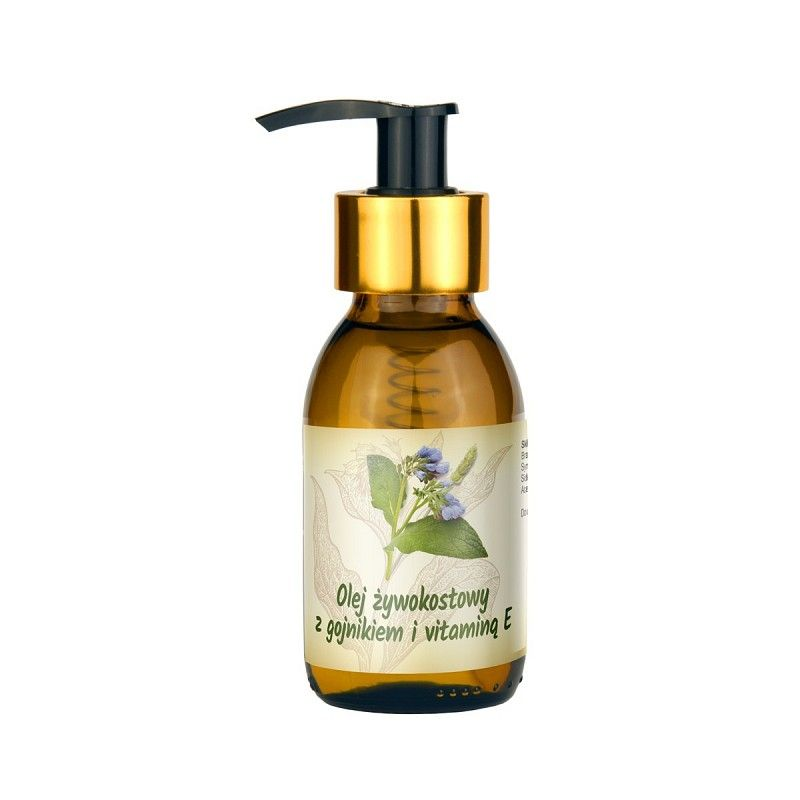 Comfrey oil with sideritis and vitamin E